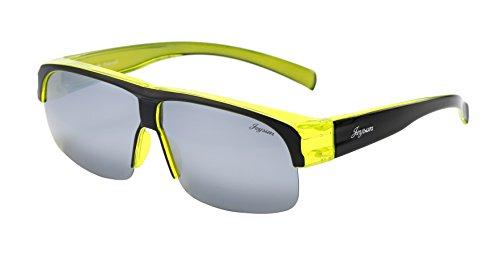 Joysun LensCovers Lunettes De soleil unisexe polarizé portées sur les lunettes de prescription 8002 wcZq6vAeoq