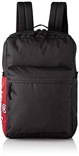 Levi's Herren The L Pack Side Tab Rucksack, Schwarz (Noir Regular Black), 12x29x45 Centimeters