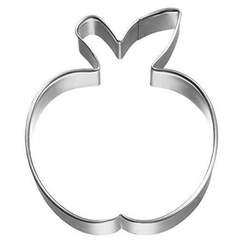 Birkmann 1010721310 Ausstechform Apfel 6 cm, Kunststoff, Grau, 5 x 3 x 2 cm
