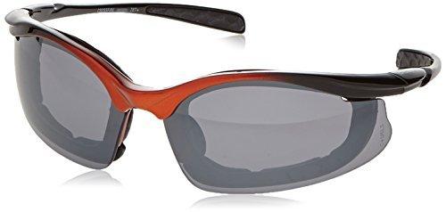 3dfd4c272d Crossfire 873 Concept Safety Glasses Silver Mirror Lens - Orange Black Frame
