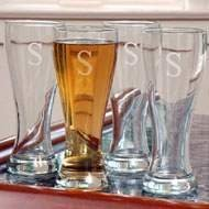 Pilsner Glass Set (Set of 4) by Cathys