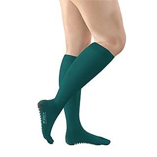 FITLEGS AES Grip Below Knee Anti-Embolism Stockings (Open Toe) - Large (Pair)