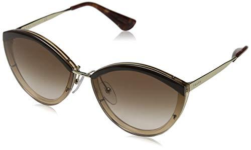 Ray-Ban Damen 0pr 07us Sonnenbrille, Braun (Browntique Pink/Brown), 64