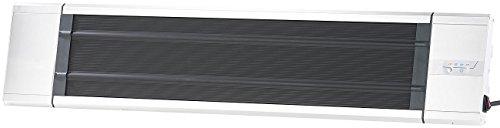 Semptec Infrarot-Strahler: IR-Dunkelheizstrahler RA-324, Timer & Fernbedienung, 2.400 Watt, IP55 (Dunkel-Infrarot-Heizstrahler) - 3