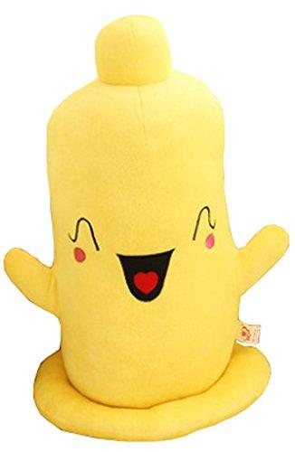 Kreative Kondom Kissen Puppe Geburtstag Geschenke Happy Face Plüsch-Spielzeug