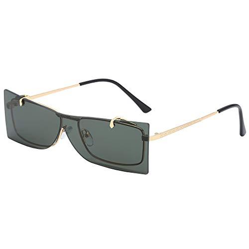 Preisvergleich Produktbild Jaysis Mode Flip Cover Sonnenbrillen Brille Vintage Retro Style Metallrahmensonnenbrille ringe toy favors supplies taschenfüller klassenzimmerpreis,  pinata neon farben gefälligkeiten set erwachsene