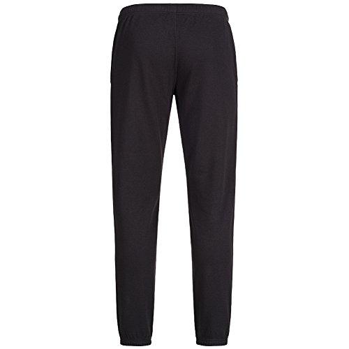 Champion Herren Logo Sweat Pants Trainingshose grau schwarz - weiß