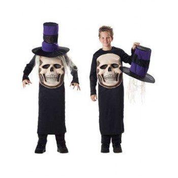 Kinder Mad Hatter Totenkopf Halloween Kostüm Alter -