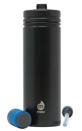 Mizu Unisex- Erwachsene 360 M9 KIT Trinkflasche Black One Size - Zyste Entfernen
