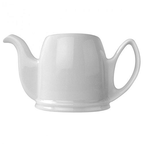 Guy Degrenne - Salam blanc Verseuse porcelaine seule 2 tasses 35cl
