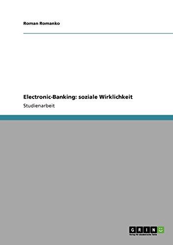 Electronic-Banking: soziale Wirklichkeit