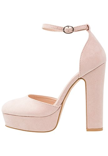 Even&Odd Plateau Pumps Für Damen Nude 37