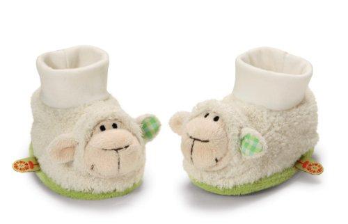 My first NICI Baby Schuhe Lamm mit Rassel, Plüsch