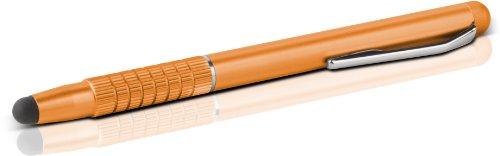 Speedlink Eingabestift Touchscreen Pen - QUILL Eingabestift für alle kapazitiven Touchscreens (sanft gleitende Gummispitze - extra schlankes Format - Schutzfolien-kompatibel) Tablet-PCs / Pads Smartphones bronze