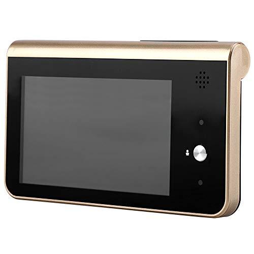 WiFi De 4.3 Timbre de Video de Mirilla Detección de Monitor de Teléfono HD en Hogar para Seguridad en Hogar y Fácil Instalación Socialme-EU