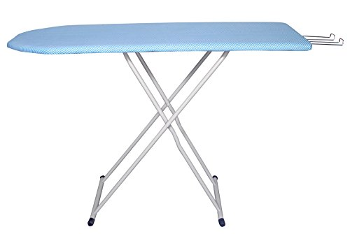 Arrision Folding Ironing Board / Iron Table with PRESS HOLDER size SIZE 122 x 47 cm (48 x 18 inch ) With Laundry Basket (30X52CM)  available at amazon for Rs.1499
