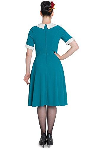 «kIM i-4397 bunny robe robe Turquoise - Bleu sarcelle