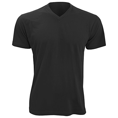 SOLS Herren Victory T-Shirt, V-Ausschnitt, Kurzarm Grau Meliert