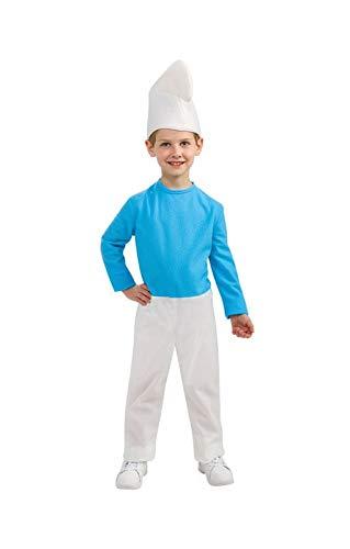 Horror-Shop Lizenziertes Schlumpf Kinderkostüm L (Schlümpfe-kostüm Kleinkinder Für)