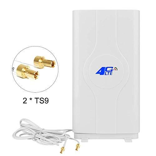 NETVIP 4G Antenne TS9 High Gain 4G LTE Antenne Mimo Dual WiFi Signal Booster Verstärker Netzwerk für WiFi Router Mobile Breitband Empfang Langstreckenantenne -