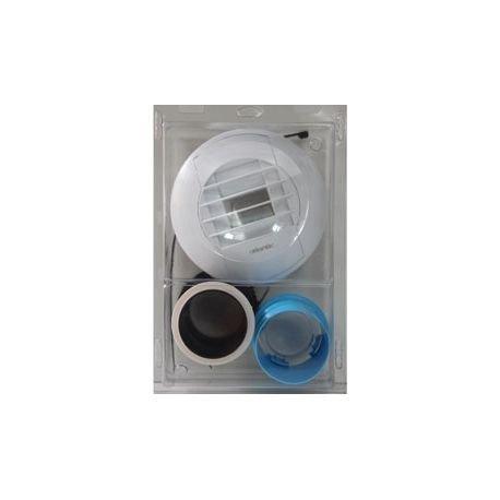 Pack bouche VMC pour WC électrique (bouton poussoir)