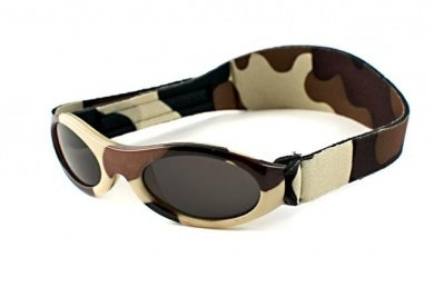4bd974b4797a02 Baby Banz - Lunettes de soleil 0-2 ans Protection UV400 - Camouflage