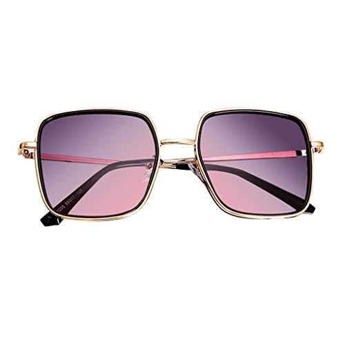 CANDLLY Brille Damen, Mode Sonnenbrillen für Frauen Polarized Oversized Fashion Vintage Brille Glasses Zubehör(Lila,One Size