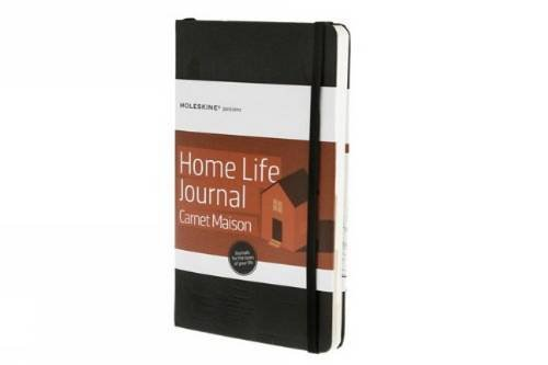 Moleskine Passion Journal Home Life Taccuino, Copertina Rigida, Nero