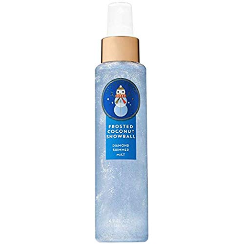 Bath and Body Works FROSTED COCONUT SNOWBALL Diamond Shimmer Mist 4.9 fl oz / 146 mL