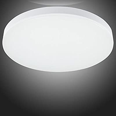 S&G Lighting, LED Ceiling Lights Home Lighting for Living Room, Bathroom, Bedroom, And Dining Room with 4000k Color Temperature(Natural White), 8W 650-750LM, AC85-265V,Exactly World First-class Led Lighting Brand Quality and Quite Competitive Price