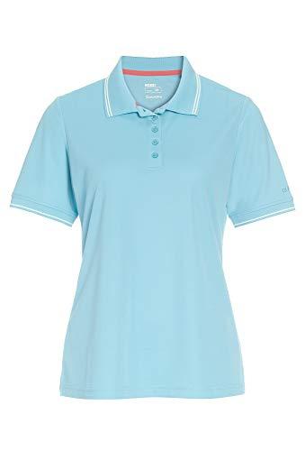 Sport Polo Shirt mit Kragen hellblau,38