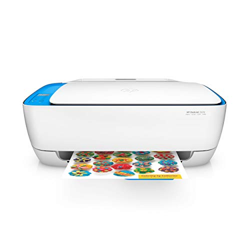 HP DeskJet 3639 Multifunktionsdrucker (Instant Ink, Drucker, Scanner, Kopierer, WLAN, Airprint) mit 2 Probemonaten HP Instant Ink inklusive (Scanner Drucker Kleine)