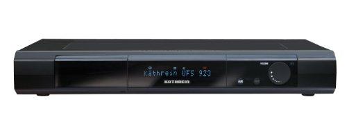 Kathrein UFS923Sw/1000GB Twin-HDTV Digitalreceiver mit Festplatte 1000GB (DVB-S, CI+, USB 2.0) schwarz