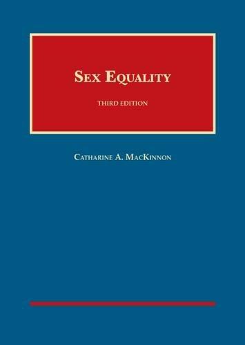 Sex Equality (University Casebook)