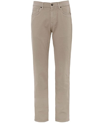 7 For All Mankind Slimmy, Jeans Homme Beige