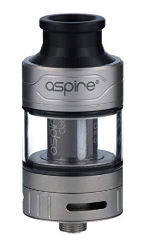 Aspire Cleito Pro Verdampfer Set mit 3ml Tankvolumen – erweiterbar auf 4,2ml – Farbe: silber