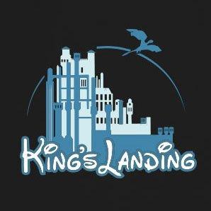 GoT: King's Landing - Herren T-Shirt Braun
