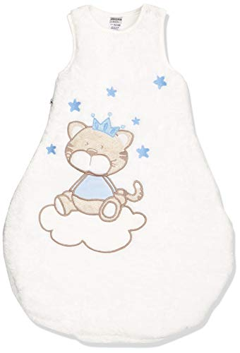 Jacky Jungen Baby Winter Schlafsack Katze, Ärmellos, Wattiert, Alter: 2-6 Monate, Größe: 62/68, Farbe: Blau, 350005