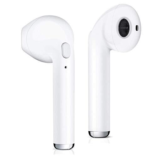 Auriculares inalámbricos Bluetooth, Auriculares Bluetooth In- Ear Mini Auriculares inalámbricos Deportivos con Caja de Carga portátil para Huawei Honor Nokia Nokia Mi Samsung Galaxy iPhone X/8/7s/7/6s