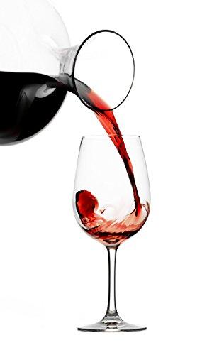 Stölzle Lausitz Bordeaux Rotweingläser Weinland 540ml, 6er Set Weinglas, hochwertige Qualität, spülmaschinenfestes Bordeauxgläser, große Rotweinkelche - 4