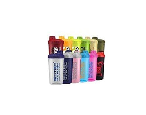 Scitec Nutrition - Shaker 12 Farben MIX Box ,700ml mit Sieb (12 Shaker) Die Shaker-box