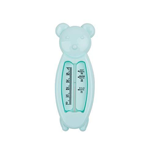 NaiCasy Meter Cute Bear Baby-Bad-Thermometer-Bad-Spielzeug Schwimmdock Mehrzweckwassertemperatur Meter blau, Sicherheit Baby-Ausstattung -
