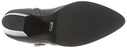 BuffaloB132A-53 P1735E PU - Stivali classici imbottiti a mezza gamba Donna Grigio (Grau (GREY325))