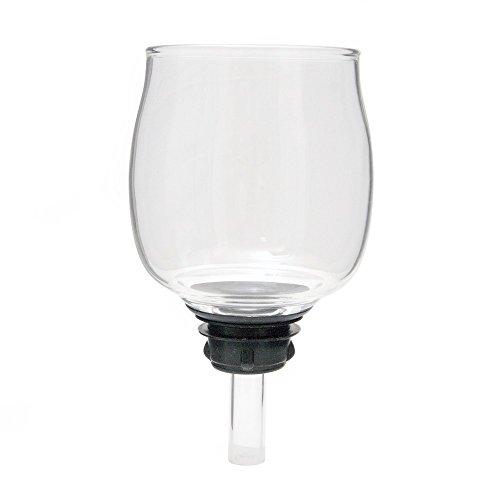 Kaffeemaschine Ersatz Becher Glas (Top Glas für Yama SY5Siphon Brewer)