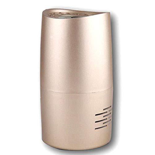 IIWOJ Purificador De Aire Coche Ambientador Luz Ultravioleta,Gold