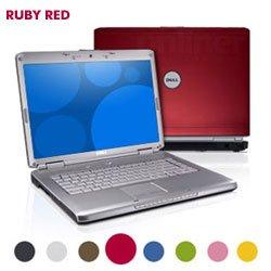 Blue Dell Inspiron 1525, MS Windows Vista Home Premium, Intel Core 2 Duo T5750 2 GHz, 2GB Memory, 120GB Hard Drive, 15.4 WXGA, DVD/RW, Built-in Webcam