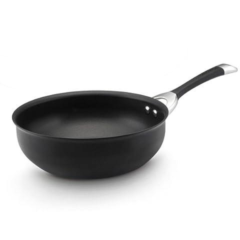 Circulon Symmetry Hard Anodized Nonstick 4-1/2-Quart Chef Pan by