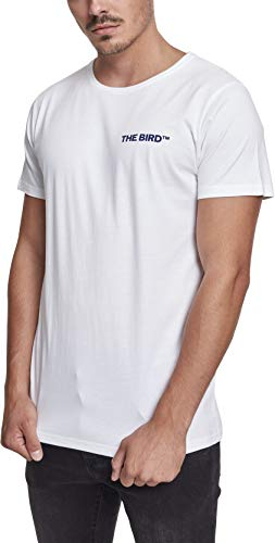 MERCHCODE Herren Air Force Bird Tee T-Shirt, White, M - Air Force White T-shirt