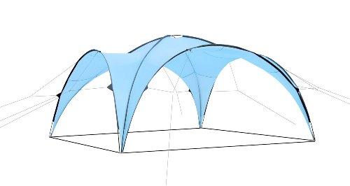 Zelt Event (CampFeuer - Event Pavillon, Event Shelter, 4,5 x 4,5 m, hellblau)