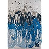 Louis de Poortere Teppich Designer Teppich Atlantic Surf 8486, Blau, moderner Stil, blau, 200x280cm - (6'7x9'2)